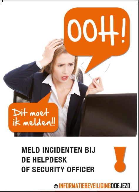 Poster incidenten melden